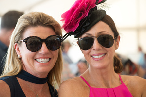 Fun, frivolity, fashion and fillies. Kiwanis Race Day never ceases to please.