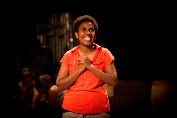 Shots from another run of Wan Smolbag Theatre's Laef i Swit, this time with Florence Taga as Sonia.