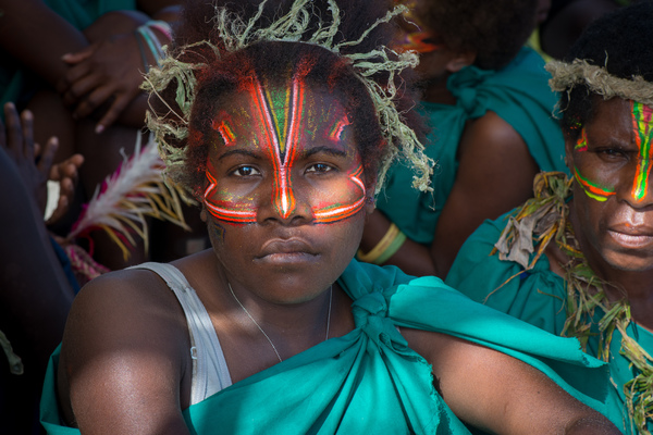 Images from a massive kastom ceremony at the groundbreaking for the Lapetasi Wharf Project.