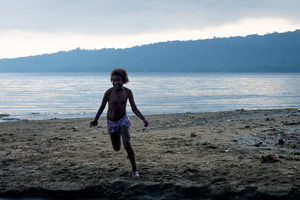 Some shots from a class trip to Mele beach.