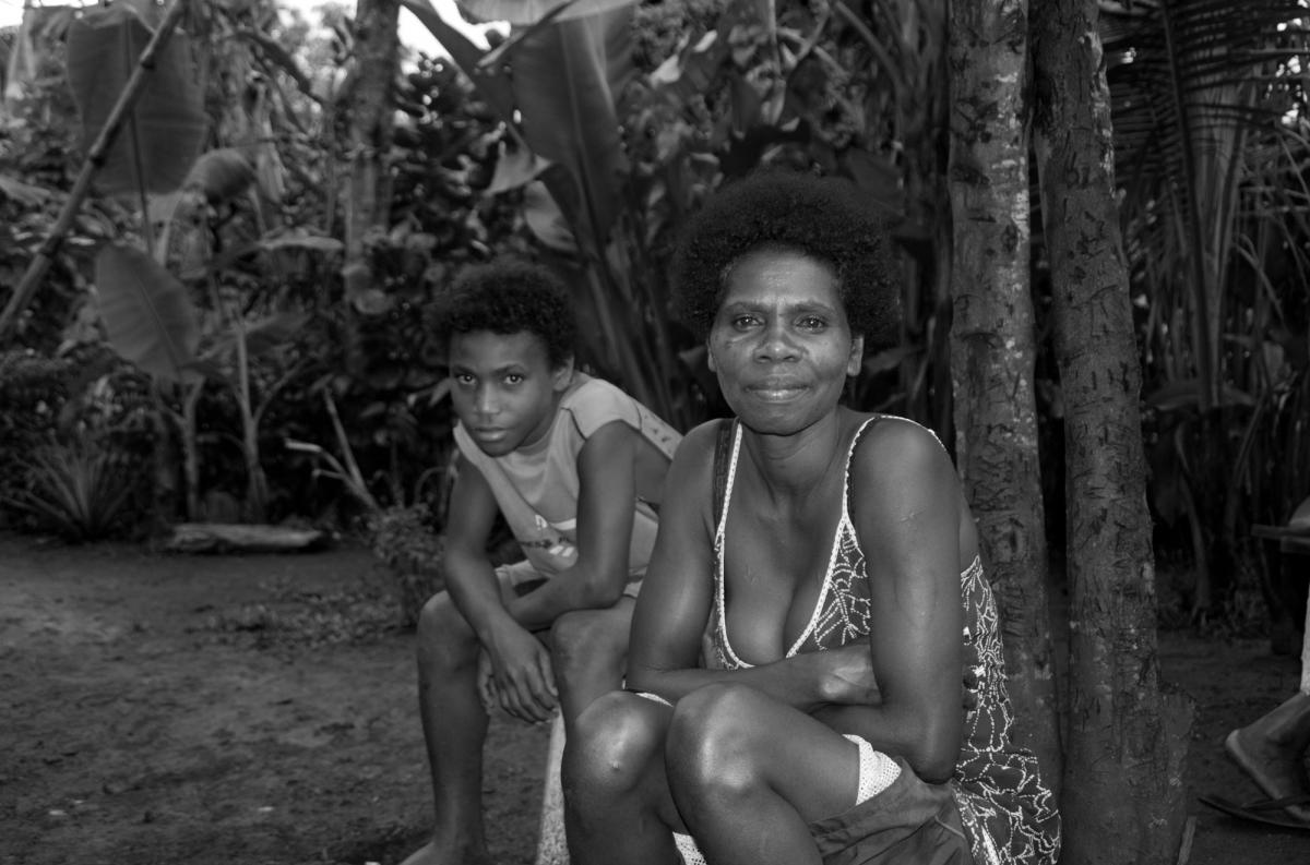 Two members of my adoptive family from the Banks group of islands.