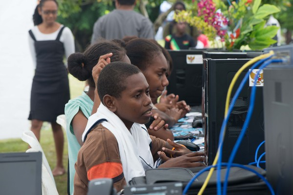 Shots from National ICT Day festivities.