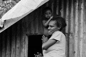 Shots taken during a walk through the Ohlen neighbourhood of Port Vila.