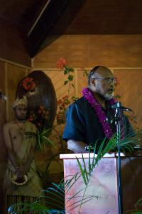 PM Edward Natapei Nipake addresses the PacINET 2010 conference