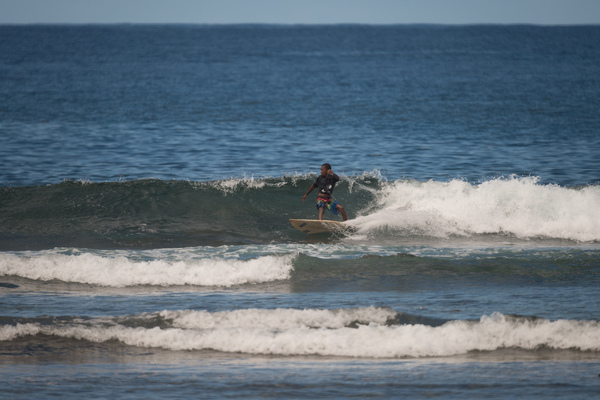 Shots from day one of the Pango Open surf competition.