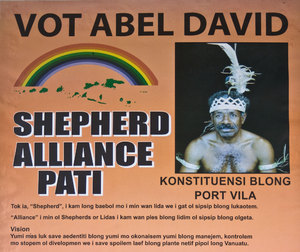 Campaign season in Vanuatu brings out some fascinating individuals and beliefs.
