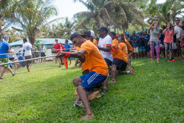 18 teams turned duked it out at Benjor Beach Resort to determine who could outwin, outlast, and out-fun the others in the seventh annual ProMedical Survivor Games.