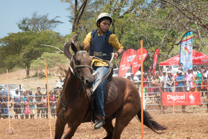 Fun and excitement on the first day of the 2017 edition of the Port Vila Rodeo.