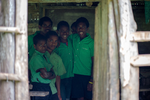 First set of shots from a series of site visits as we begin implementing Vanuatu's Universal Access Policy.