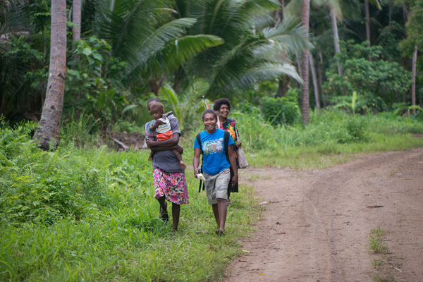 Third set of photos from a series of site visits to roll out the government of Vanuatu's universal access policy.