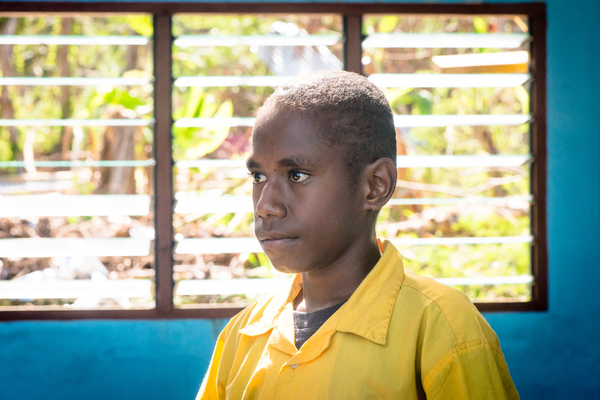 More shots from St Joseph's school near Port Vila.