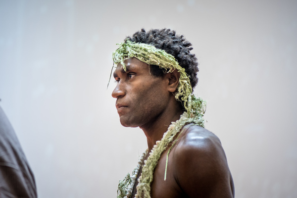 Mungau Dain, star of the Academy Award nominated film Tanna, expressed his thanks to the audience for their support at an event in Port Vila Vanuatu.