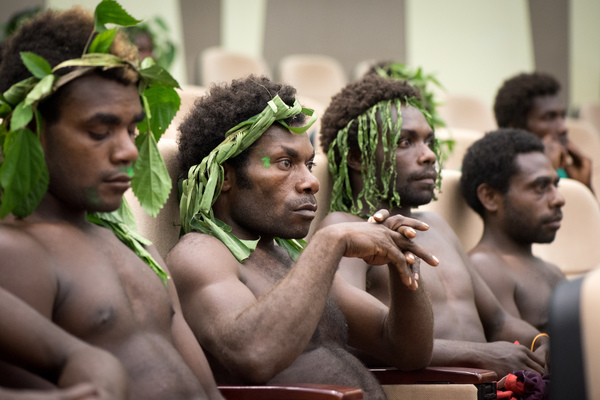 Hundreds turned out to show their support for Academy Award nominee Tanna at a live event at the National Conference Centre in Port Vila.