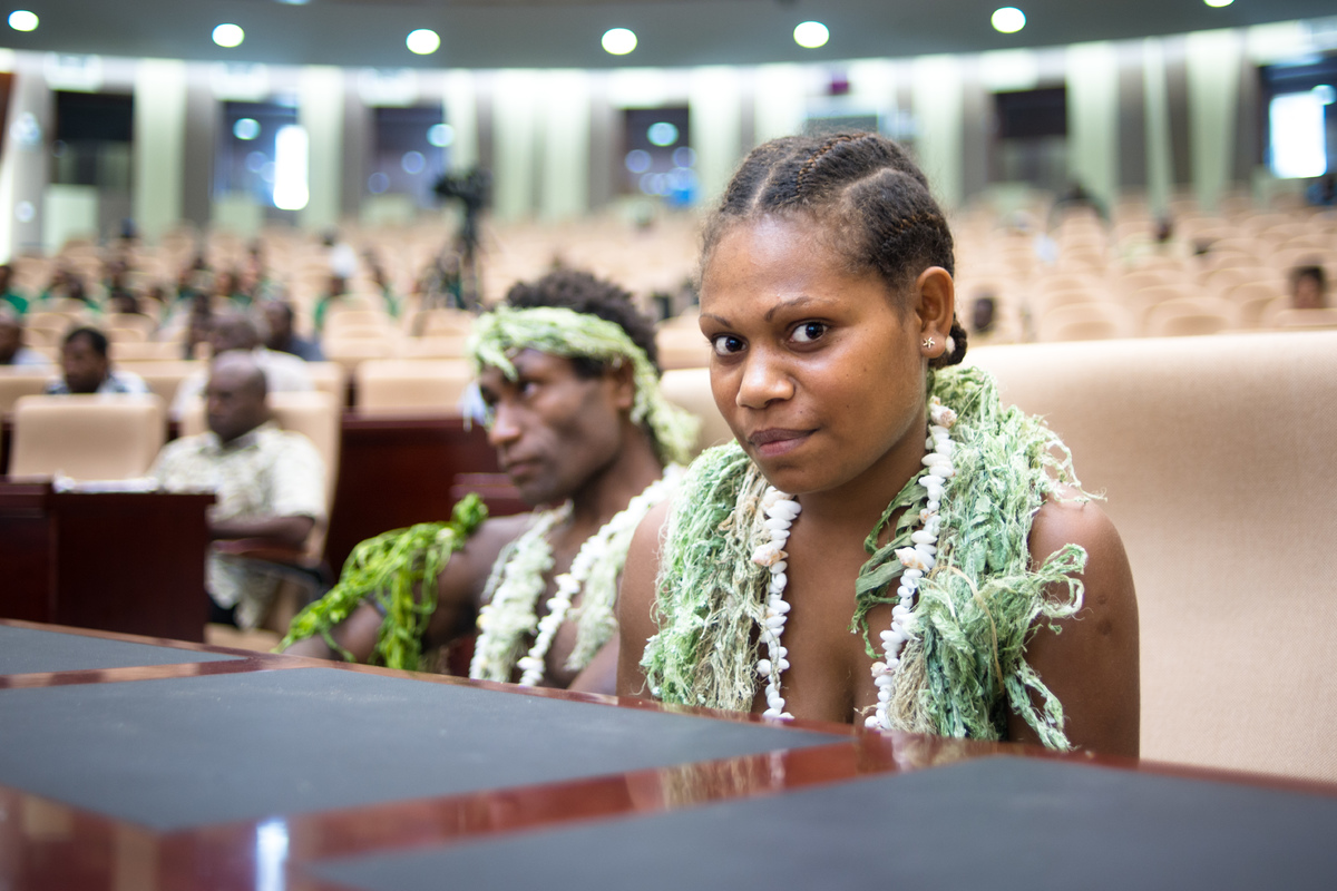 Marie Wawa was honoured for her star turn in Academy Award nominated film Tanna.