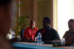 Some shots from an IPv6 strategy session in Port Vila.