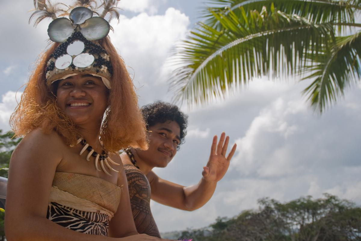 Every year, the University of the South Pacific holds and Open Day. Among the highlights are the cultural performances of students associations from all around the Pacific.