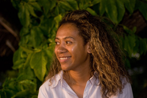 As if it weren't enough that Val is beautiful, charming in four languages and a great cook, and a truly kind person, she's also one of the people who keeps Vanuatu's proverbial trains running on time.