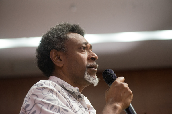 Shots from the Vanuatu 2030 Validation Summit Q&A session.