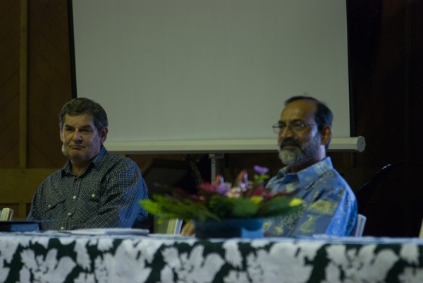 Photos taken during a recent visit by USP's Vice Chancellor.