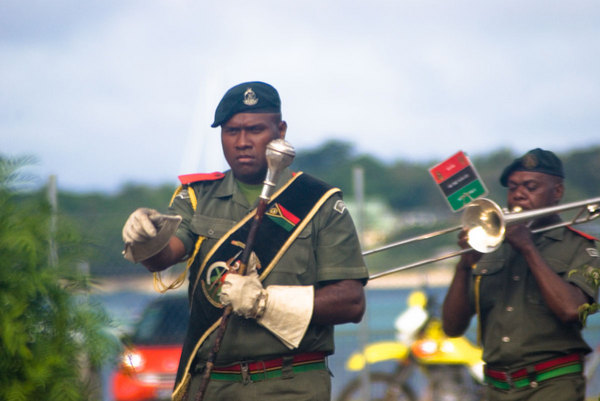 The 2007 Constitution Day celebrations included the Vanuatu  Mobile Force marching band. ... Actually, <em>every</em> celebration includes the Vanuatu Mobile Force marching band.