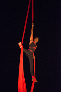 Shots from VanuaFire's Sunset Circus show.