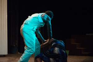 Shots from Wan Smolbag Theatre company's production of Klaem Long Lada Ia.