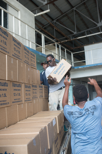Hundreds of cases of water have already been sent to Ambae thanks to countless private and business contributors. Much more will be needed to sustain 7,700 evacuees.