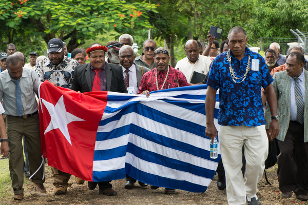 The West Papuan independence movement, newly united, has lodged its application to the Melanesian Spearhead Group for standing as a full member.