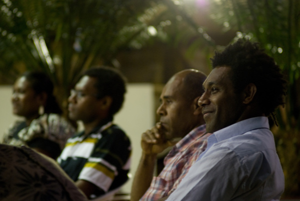 Shots from a forum on Vanuatu's next generation of leaders, sponsored by the Pacific Institute of Public Policy.
