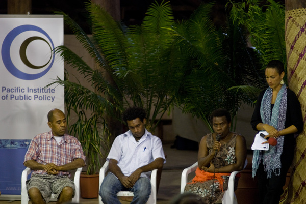 More shots from the Vanuatu Youth Forum.
