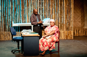 Shots from Wan Smolbag Theatre's production of Zero Balans.