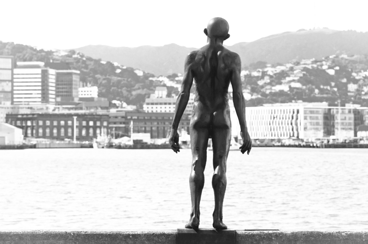 Some shots taken on a sunny afternoon at Wellington's sea front.